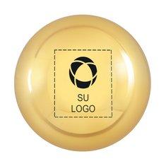 Bálsamo labial redondo metálico de Lanco - Paquete de 75