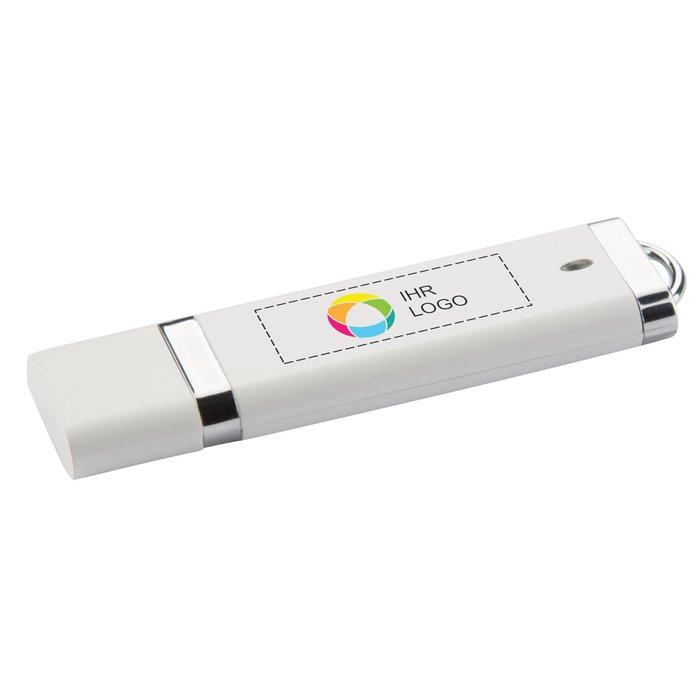 Flacher USB-Stick (2GB)