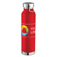 22oz Thor Copper Vacuum Insulated Bottle with Full-Color Wraparound
