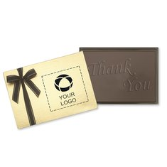 Thank You Chocolate Presentation Bar - Case of 12