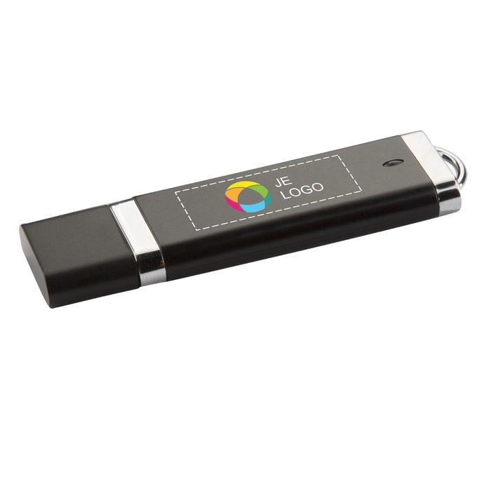 Matte platte USB-stick 4 GB