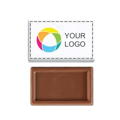 Barretta di cioccolata MINI da 3,5 g, confezione da 1000 pezzi