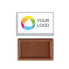 Minitableta de chocolate de 3,5g, paquete de 1000unidades