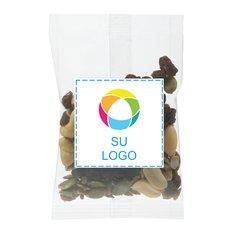 1 oz de surtido de pasas y frutos secos Bolsita de golosinas, Paquete de 250 unidades