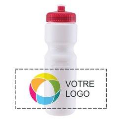 828ml Bouteille de sport Velocity, habillage couleur à 360°