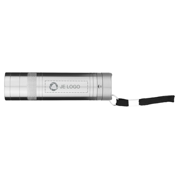 Avenue™ lasergegraveerde zaklamp met flessenopener