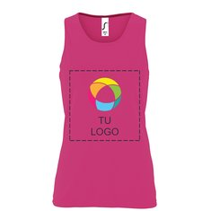 Camiseta de tirantes deportiva Sol's® para mujer