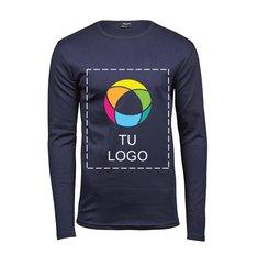 Camiseta de tejido interlock de manga larga de Tee Jays®