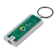 Castor sleutelhangerlampje met full-colour drukwerk