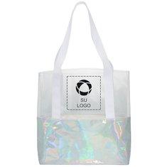 Bolsa de playa marinera holográfica