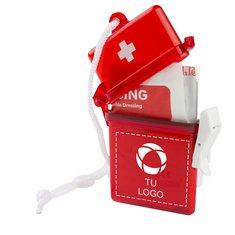 Kit de primeros auxilios de 11 artículos con toallitas con alcohol de Bullet™