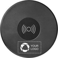 Avenue™ Circle Wireless Charging Alarm Clock Speaker