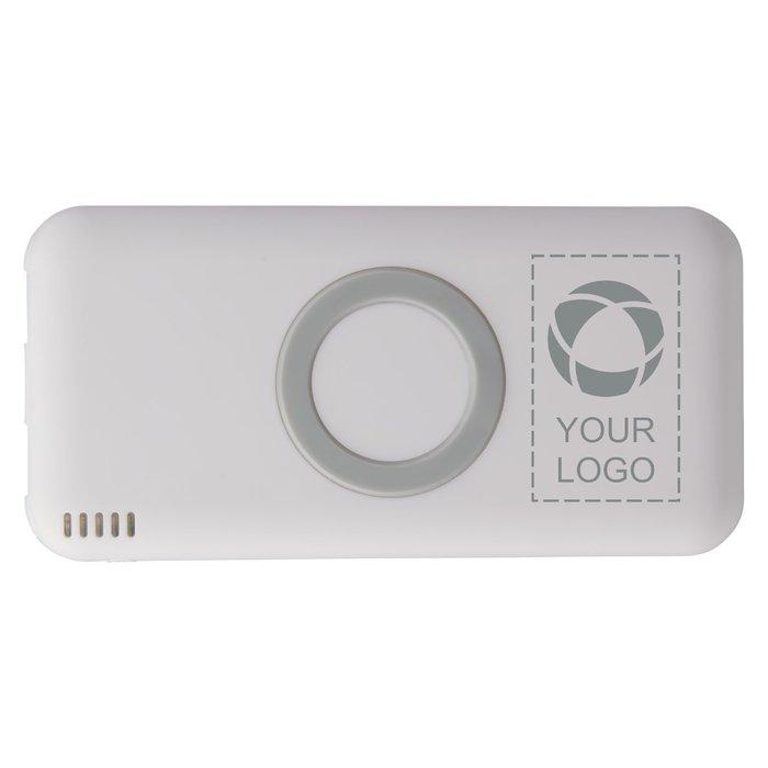 Avenue™ Coma 6000MAH Wireless PB Laser Engraved