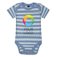 Mantis™ Baby Striped Short Sleeve Bodysuit