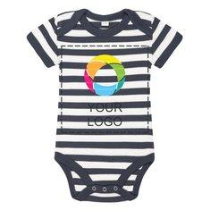 Mantis™ Baby Striped Short Sleeve Bodysuit