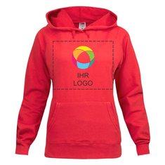 Fruit of the Loom® Lady-Fit Lightweight Kapuzen-Sweatshirt