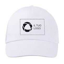 Cappellino di cotone con stampa monocolore Basic Bullet™