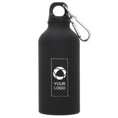 Bullet™ Oregon matte sportfles met karabijnhaak en een inhoud van 400 ml