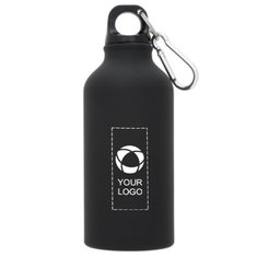 Bullet™ Oregon Matte 400 ml sportsflaske med karabinhage