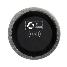 Avenue™ Fiber Bluetooth® speaker met draadloze oplader