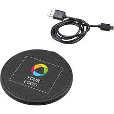 Avenue™ PU Wireless Charging Pad Full Colour Print