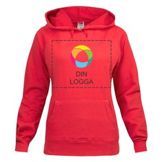 Fruit of the Loom® Lady Fit Lightweight Hooded Sweat