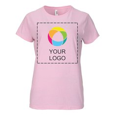 Anvil® 4.5-Ounce Ring-Spun Ink Printed Lightweight Women's T-Shirt