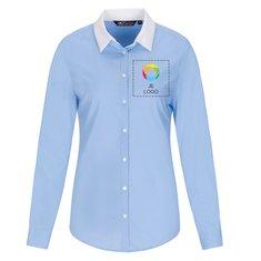 Sol's™ Belmont Fil-à-Fil Damesoverhemd met Lange Mouw