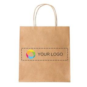 Bolsa de papel pequeña con impresión a todo color