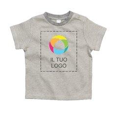 Maglietta da neonato a righe Mantis™