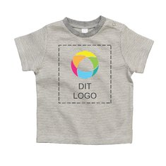 Kortærmet T-shirt med striber fra Mantis™