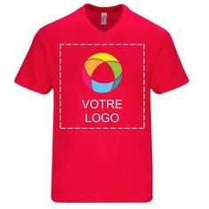 T-shirt homme à manches courtes et col en V Victory de Sol's®