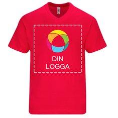Sol's® Victory kortärmad T-shirt med V-ringning i herrmodell