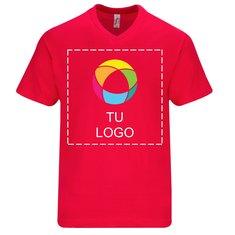 Camiseta de manga corta con cuello de pico Victory de Sol's® para hombre