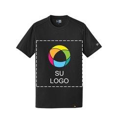Camiseta de mezcla New Era®Heritage con cuello redondo