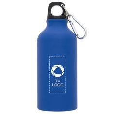 Botella deportiva mate con mosquetón Oregon de 400 ml de Bullet™.