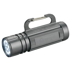 Taschenlampe mit Karabinerhaken von Avenue™ mit Lasergravur