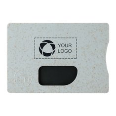 Wheat Straw RFID Card holder