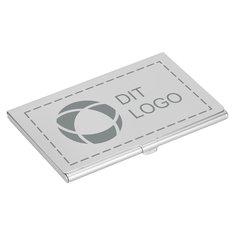 Bullet™ New York holder til visitkort med laserindgravering