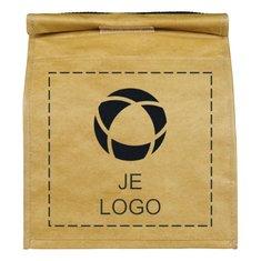 Bullet™ Paper Bag Lunchkoeltas voor 12 blikjes