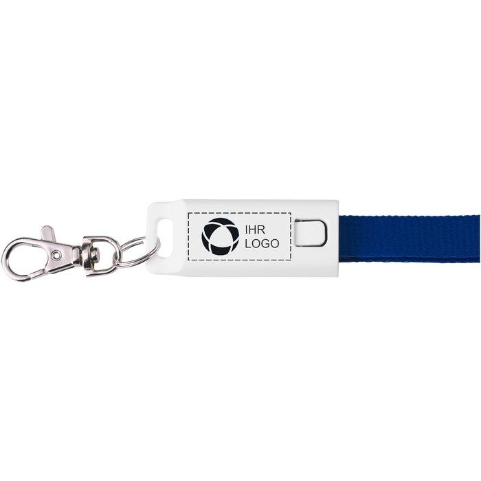 3-in-1-Ladekabel Trace mit Trageband von Avenue™