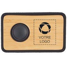 Haut-parleur Bluetooth en bambou naturel Bondary