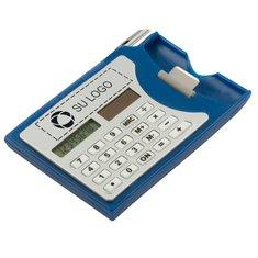 Calculadora y tarjetero