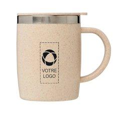 Mug isotherme en paille de blé 400ml Wey de Bullet™