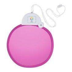 Bullet™ Breeze sammenfoldelig vifte med snor med fuldt farvetryk