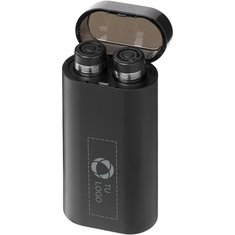 Batería externa luminosa con auriculares inalámbricos Glow de Avenue™
