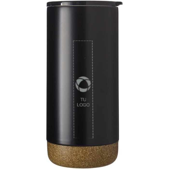 Vaso isotérmico con aislamiento al vacío de cobre Valhalla de Avenue™ grabado con láser