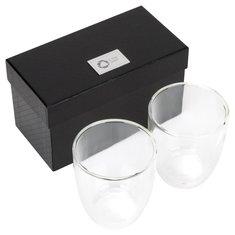 Set da 2 bicchieri in vetro Seasons™ Boda con incisione a laser