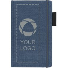 JournalBooks® Jeans A5 Fabric Notebook