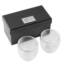 Seasons™ 2 Piece Espresso Set, Laser Engraved
